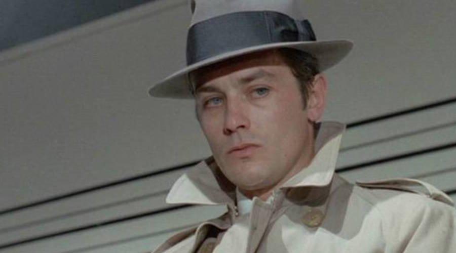 Alain Delon stars in the Jean-Pierre Melville French crime film classic