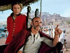 Sean Connery and Michael Caine star in John Huston's adaptation