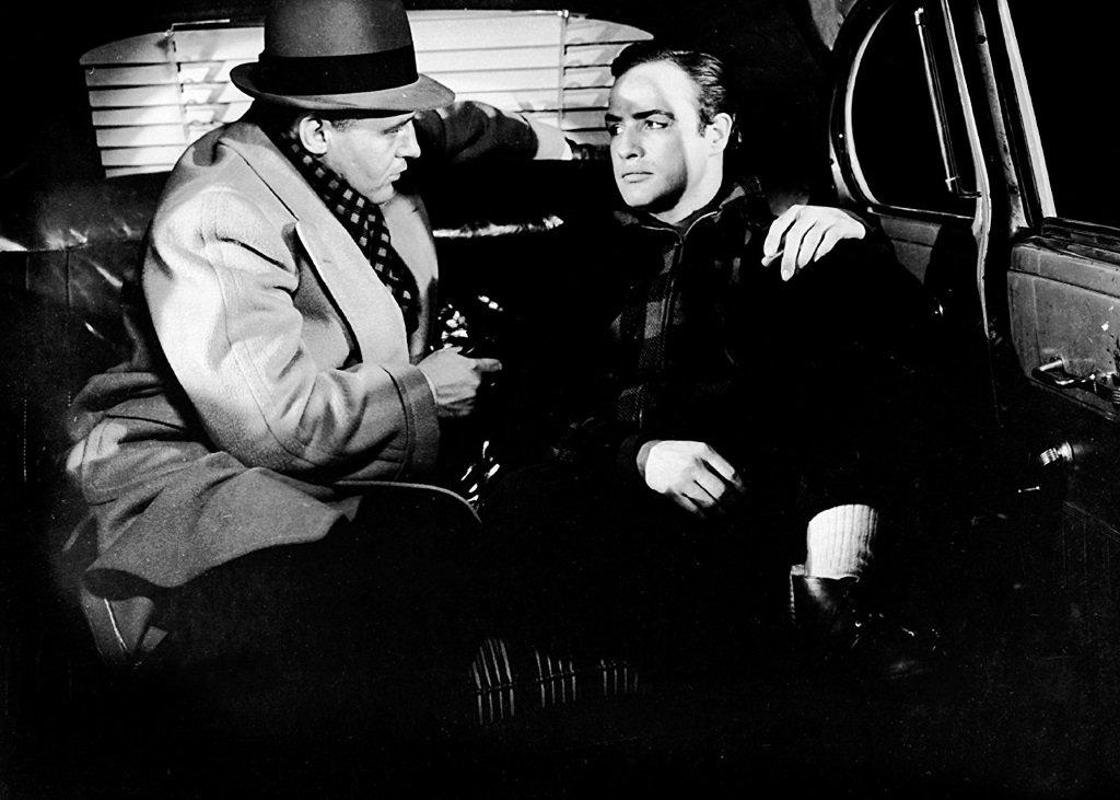 Rod Steiger and Marlon Brandon in the Oscar-winning film by Elia Kazan
