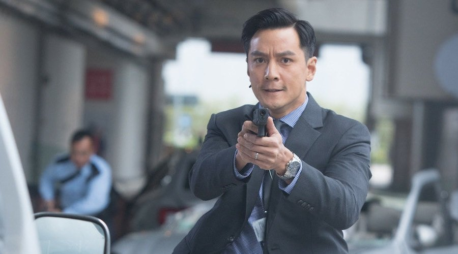Ringo Lam directs the lavish Hong Kong action film