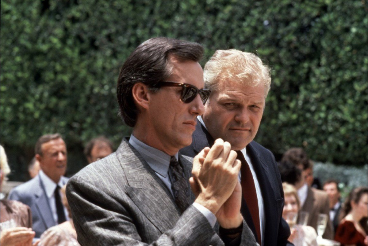 James Woods and Brian Dennehy star in the smart little thriller written by Larry Cohen