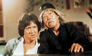 Jackie Chan and Yuen Siu-tin in the martial arts classic by Yuen Woo-ping