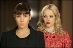 Noomi Rapace and Rachel McAdams in Brian De Palma's remake of Love Crimes