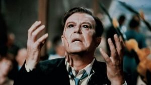 Ray Milland stars in Roger Corman's science fiction horror