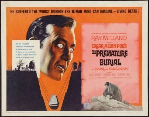 Ray MIlland stars in Roger Corman's Edgar Allan Poe adaptation