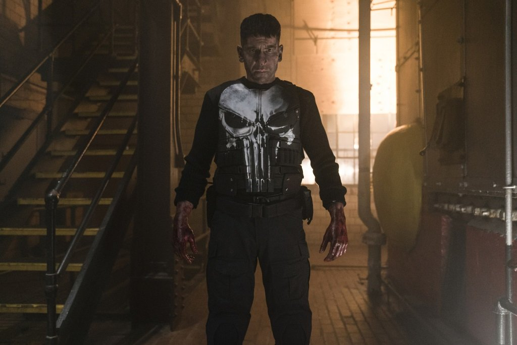 "Jon Bernthal is Frank Castle, aka ""The Punisher"""