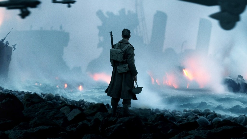 Tom Hardy, Mark Rylance, and Kenneth Branagh star in Christopher Nolan's World War II drama
