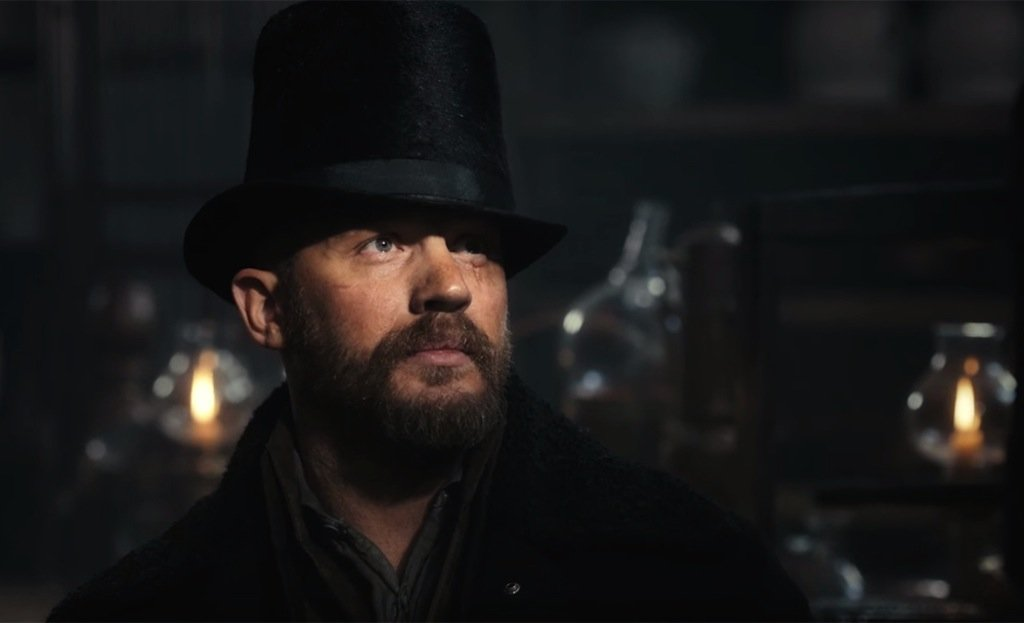 Tom Hardy stars in the British/American co-production he created with Steven Knight