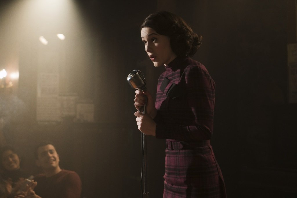 Rachel Brosnahan stars in the Amazon Prime series from Amy Sherman-Palladino