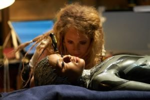 "Juno Temple and Janelle Monae in Episode 106 ""Autofac"""