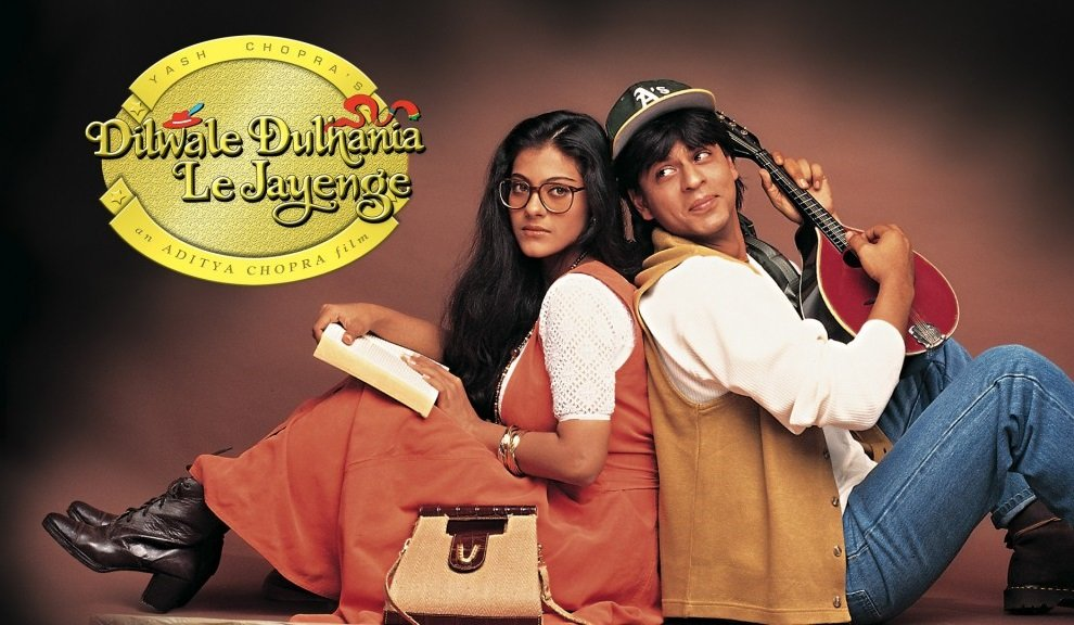 Shah Rukh Kha and Kajol in the Bollywood musical