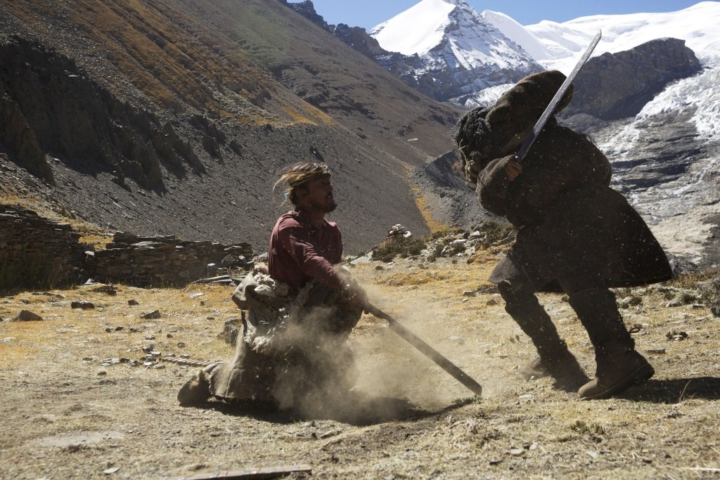 Kimba stars in the enigmatic Chinese film set in Tibet directed by Zhang Yang