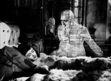 Odette Joyeux and Jacques Tati in the romantic ghost story by Claude Autant-Lara