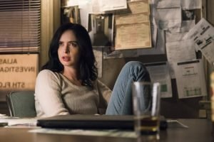 Krysten Ritter in the Netflix Original series based on the Marvel Comics character