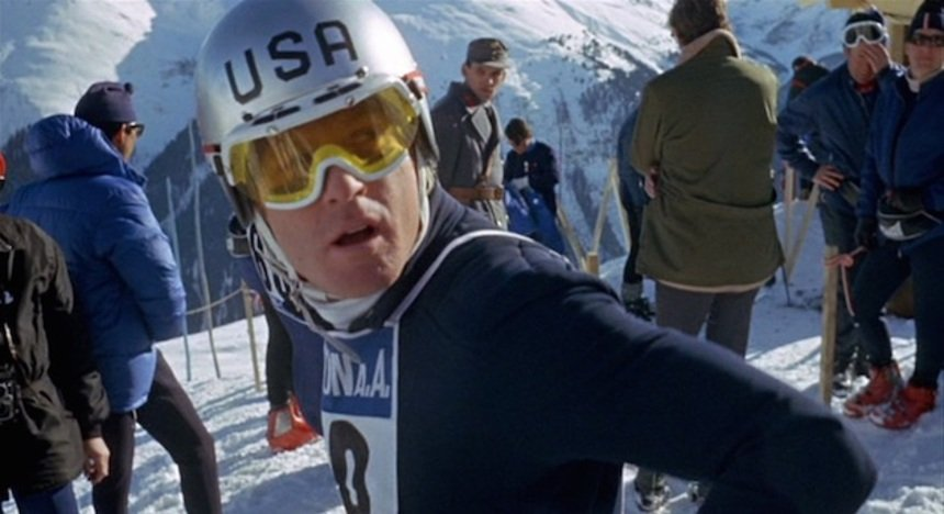 Robert Redford stars in the ski drama directed by Michael Ritchie