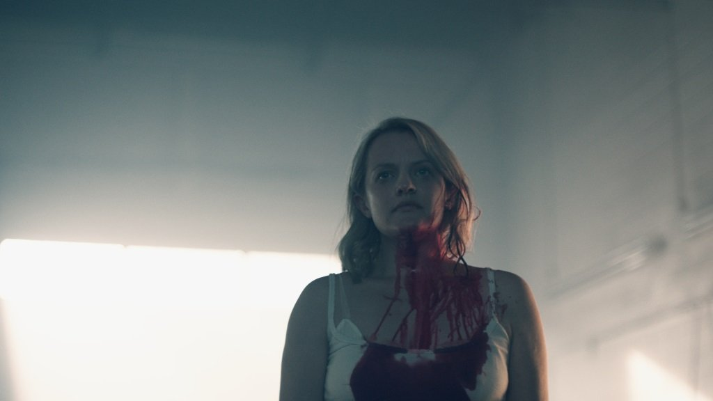 Elisabeth Moss in the Hulu original series