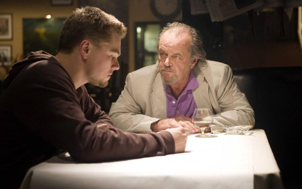 Leonardo DiCaprio, Matt Damon, and Jack Nicholson star in the Oscar-winning gangster film