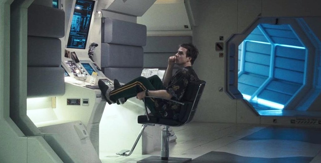 Sam Rockwell in the debut feature from Duncan Jones