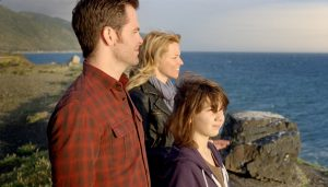 Chris Pine and Elizabeth Banks star in this family drama based on a true story