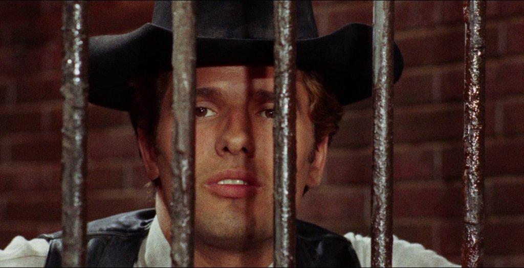 Giuliano Gemma (billed as Montgomery Wood) as Ringo in the spaghetti westerns from Dessario Tessari