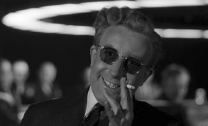 Peter Sellers stars in Stanley Kubrick's political satire of mutually assured destruction