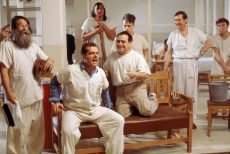 Jack Nicholson and Louise Fletcher star in the film directed by Milos Forman