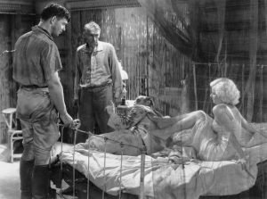 Clark Gable, Tully Marshall, Donald Crisp and Jean Harlow in the 1932 MGM classic directed by Victor Fleming