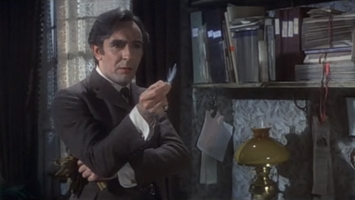 Colin Blakely is Sherlock Holmes in the film by Billy Wilder