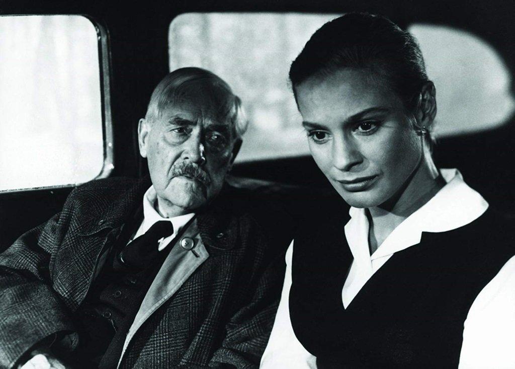 Victor Sjöström and Ingrid Thulin in the Swedish classic by Ingmar Bergman