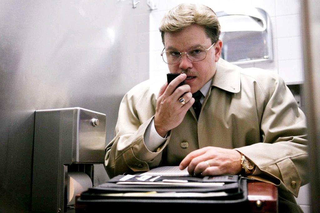 Matt Damon is Mark Whitacre in the movie by Steven Soderbergh