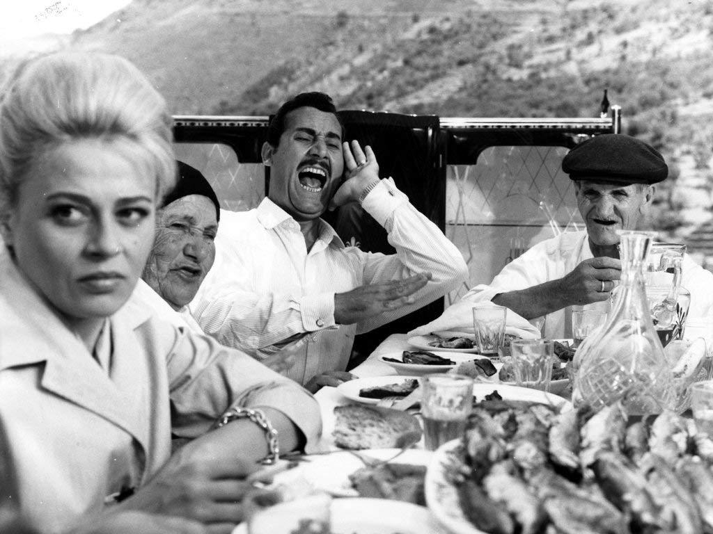 Alberto Sordi stars in Alberto Lattuada's brilliant satire from Italy