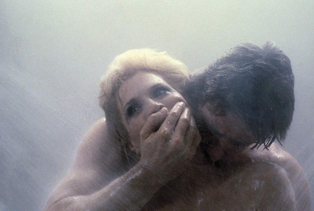 Angie Dickinson in the thriller by Brian De Palma with Angie Dickinson, Keith Gordon and Nancy Allen