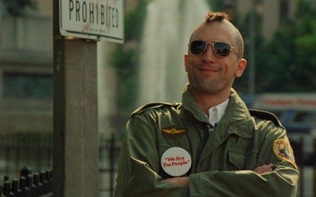 Robert De Niro as Travis Bickle in 'Taxi Driver'