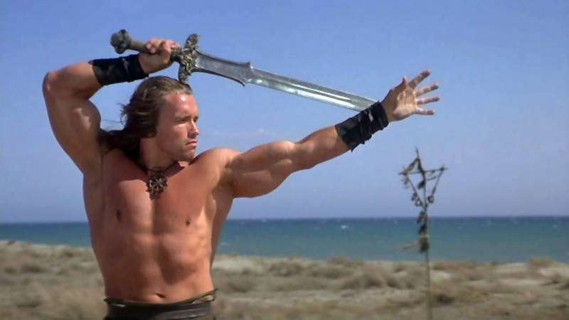 Arnold Schwarzenegger is Conan the Barbarian on Netflix