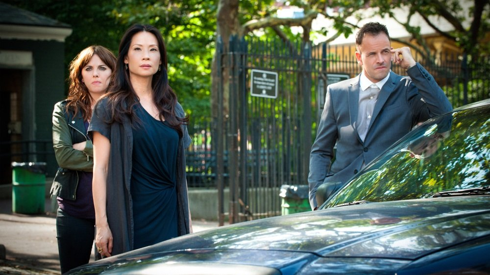 'Elementary' with Lucy Liu and Jonny Lee Miller