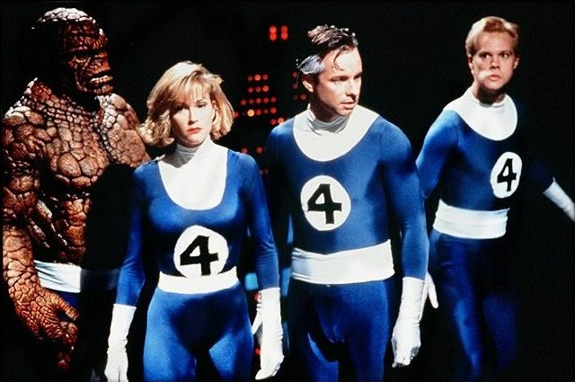 The original 1994 The Fantastic Four produced by Roger Corman