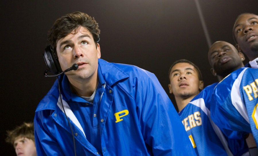 Kyle Chandler as Coach Taylor in Friday Night Lights