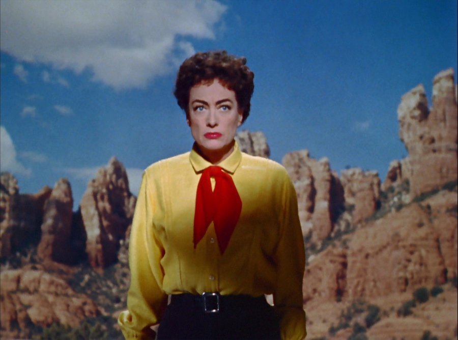 Joan Crawford in Nicholas Ray's cult western Johnny Guitar