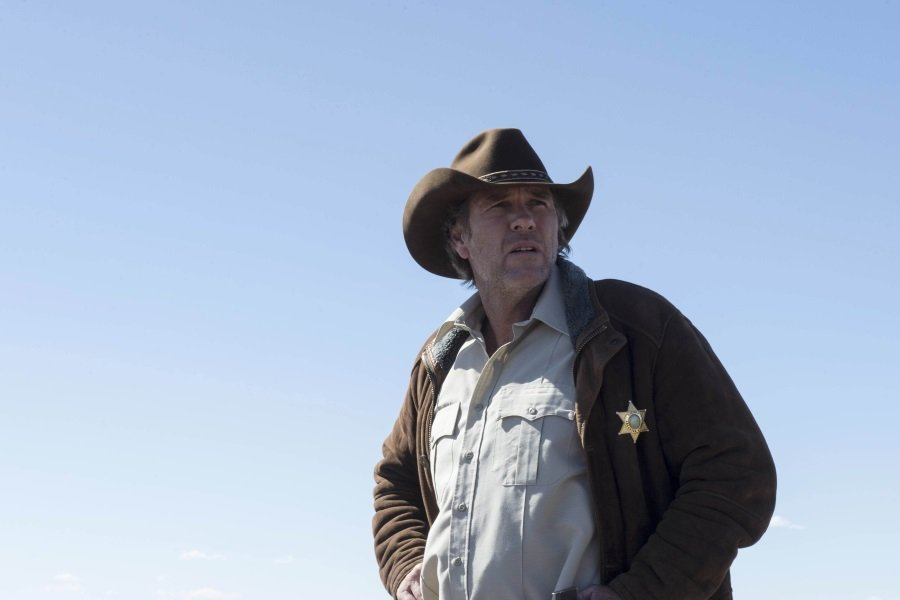 "Robert Taylor is Sheriff Walt Longmire in the TV series 'Longmire,"" now on Netflix"