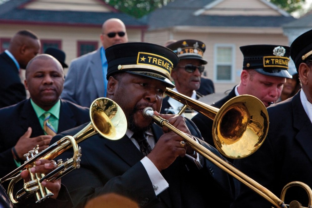 Wendell Pierce in the HBO series Treme created by David Simon