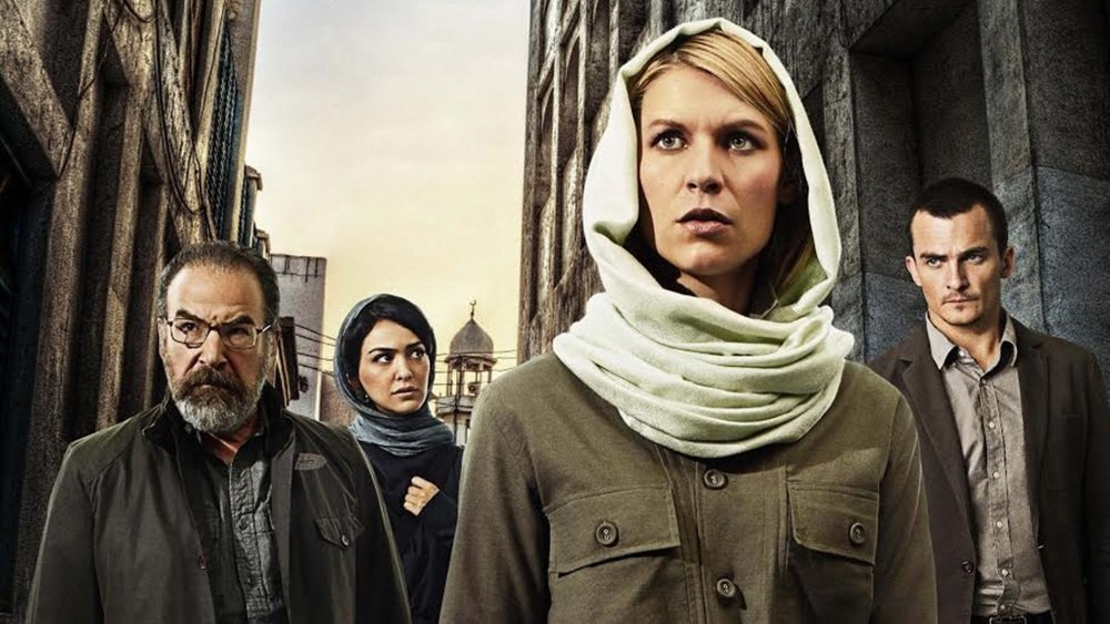 Claire Danes in the Showtime original series 'Homeland' - Season 5 begins in October 2015