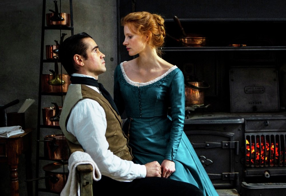 Colin Farrell and Jessica Chastain in Liv Ullman's 'Miss Julie'