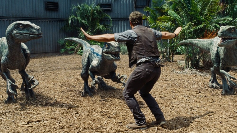 Chris Pratt in 'Jurassic World,' directed by Colin Trevorrow