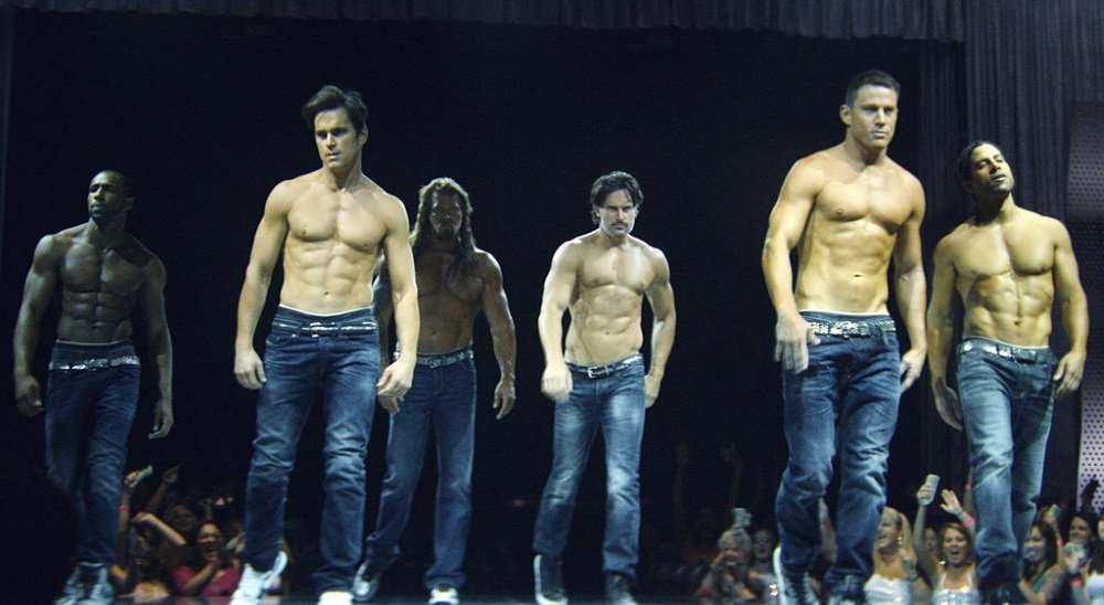 Channing Tatum,Joe Manganiello, Matt Bomer, Kevin Nash, Adam Rodriguez, and Stephen Boss in 'Magic Mike XXL'