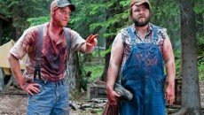 Alan Tudyk and Tyler Labine in the horror comedy 'Tucker & Dale vs. Evil '