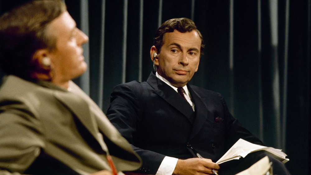 William F. Buckley and Gore Vidal debate the 1968 elections on ABC in 'Best of Enemies'