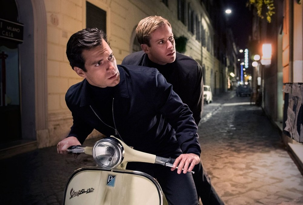 Henry Cavill and Armie Hammer are Napoleon Solo and Illya Kuryakin in Guy Ritchie's big screen revival of 'The Man From U.N.C.L.E.'