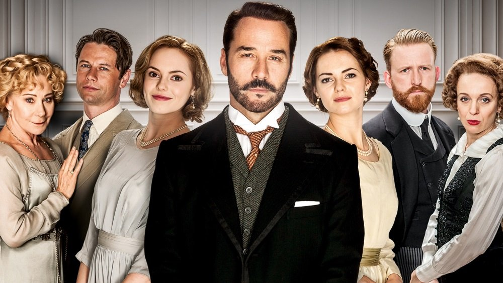 Jeremy Piven stars in the British series 'Mr Selfridge'