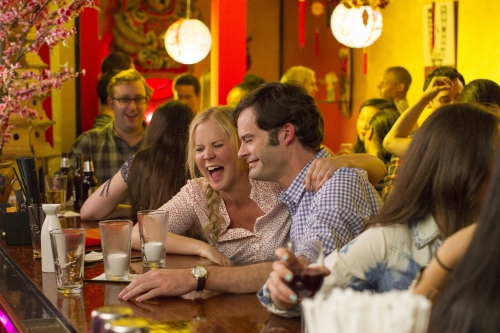 Amy Schumer and Bill Hader in 'Trainwreck,' directed by Judd Apatow