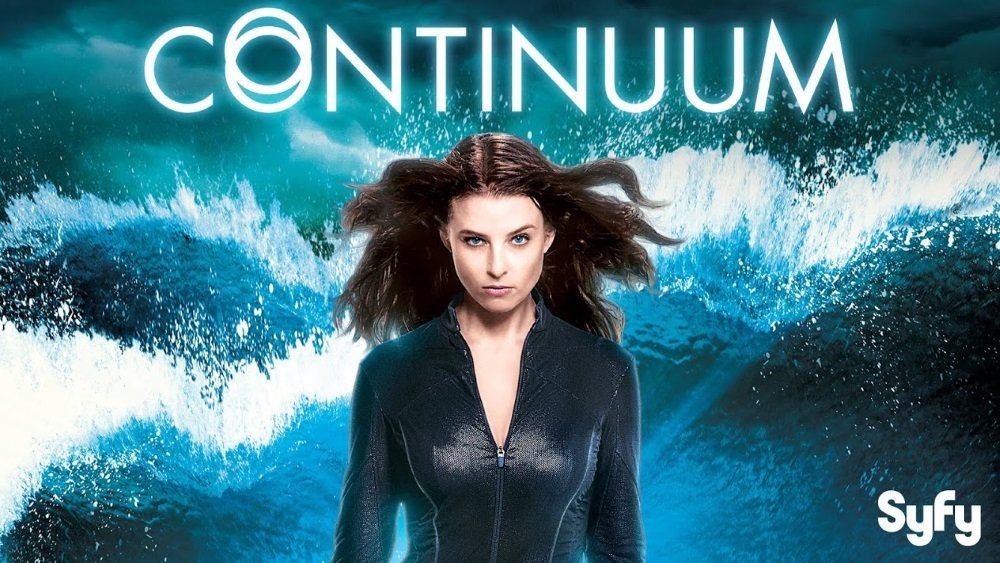 Rachel Nichols stars in the time travel series 'Continuum' seen on SyFy.
